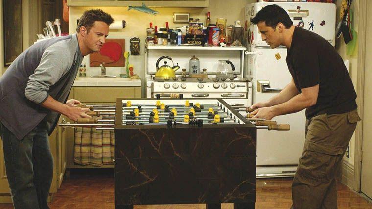 Le babyfoot de Joey et Chandler