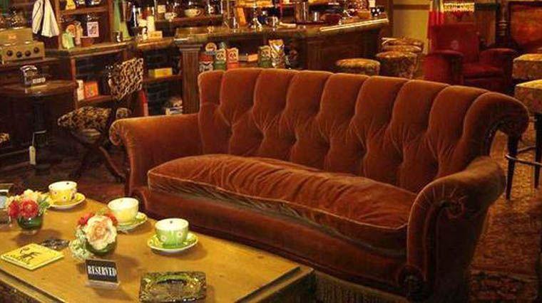Le canapé du Central Perk