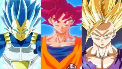 Sondage Dragon Ball : quelle est ta transformation en Super Saiyan préférée ?