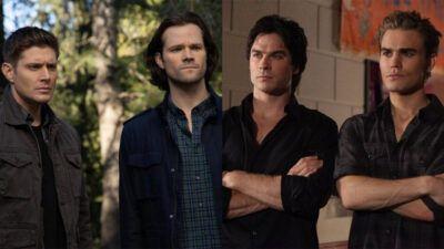 Sondage : tu préfères… Dean et Sam (Supernatural) ou Damon et Stefan (The Vampire Diaries) ?