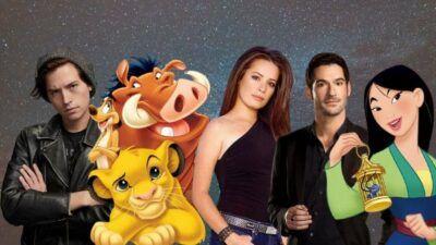 Donne-nous tes préférences séries, on devinera quelle est ta chanson de Disney préférée