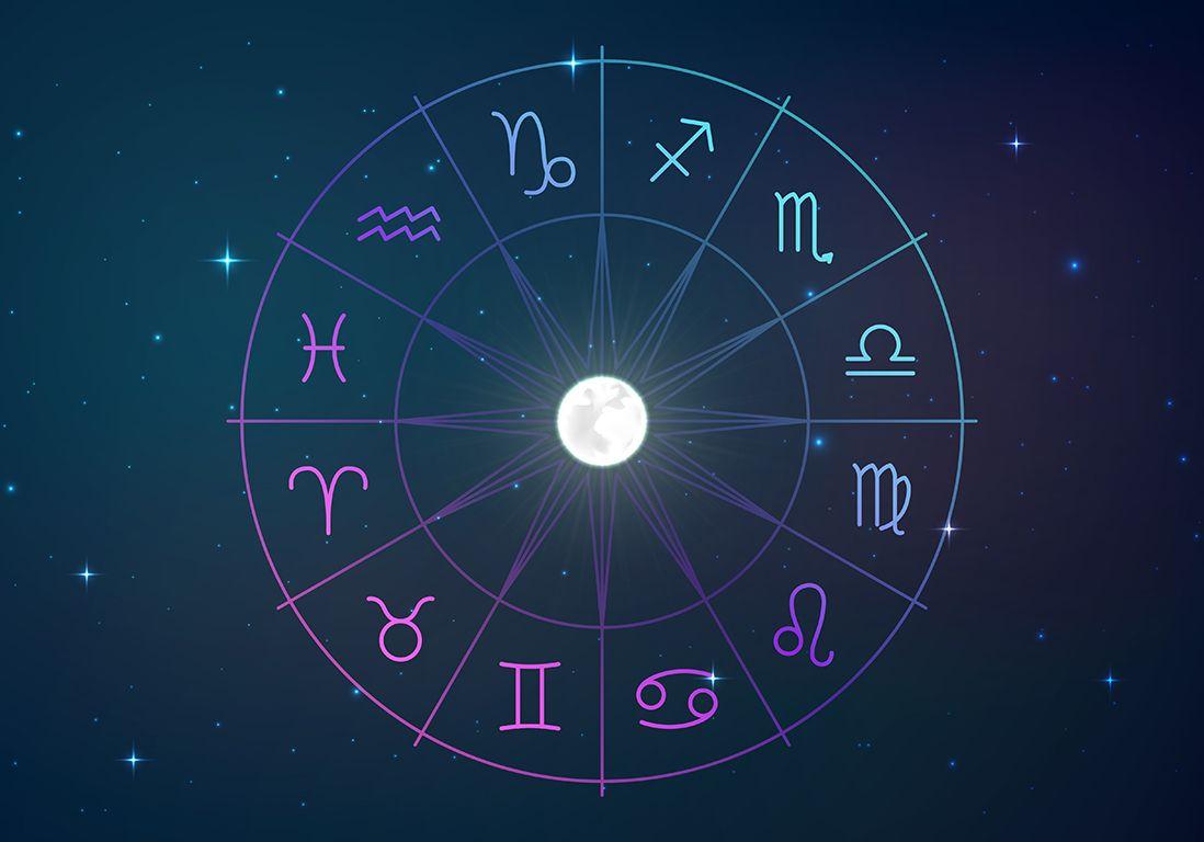 Roue 12 signes astro