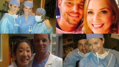 Grey's Anatomy : 10 photos des coulisses des premières saisons qui vont vous rendre nostalgiques