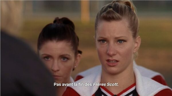 brittany glee les frères scott
