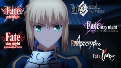 Fate/Stay Night : comment regarder les animes ? L'ordre de visionnage de l'univers Fate expliqué