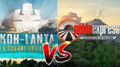 Sondage, le match ultime : tu préfères Koh-Lanta ou Pékin Express ?
