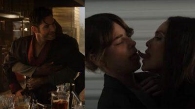 Lucifer : Netflix dévoile le bêtisier de la saison 5, avec un baiser très étrange entre Chloé et Maze