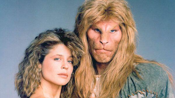 Beauty and the Beast (CBS) 1987-1990Shown: Ron Perlman, Linda Hamilton