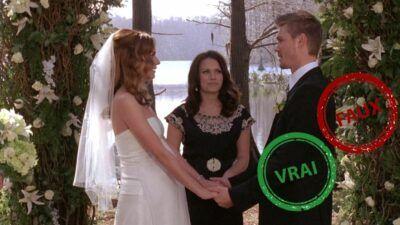 Les Frères Scott : seul un vrai fan aura 10/10 à ce quiz vrai ou faux sur l'épisode du mariage de Peyton et Lucas