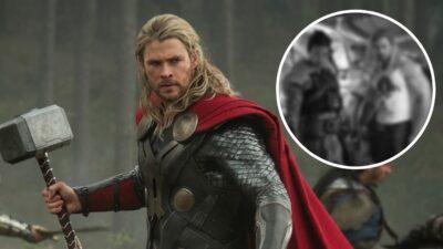 Thor, Love & Thunder: Chris Hemsworth dévoile un corps impressionnant sur le tournage