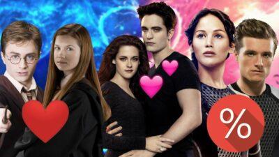 Sondage : note la compatibilité de ces couples de teen sagas