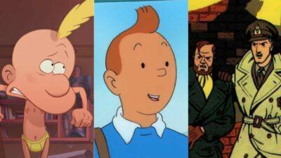 Titeuf, Tintin, Blake et Mortimer et bien d'autres héros cultes de la BD débarquent sur ADN