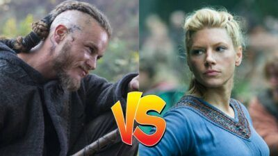Sondage : le match ultime, tu préfères Ragnar ou Lagertha de Vikings ?