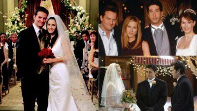 Seul un vrai fan de Friends aura tout bon à ce quiz sur les mariages de la série