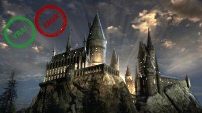 Harry Potter : impossible d'avoir 10/10 à ce quiz vrai ou faux sur Poudlard
