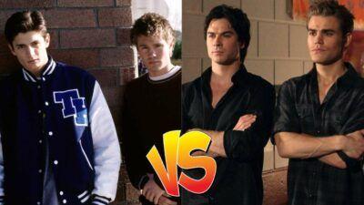 Sondage : le match ultime, tu préfères les frères Scott ou les frères Salvatore (The Vampire Diaries) ?