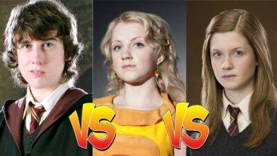 Sondage : match ultime, tu préfères Neville, Luna ou Ginny dans Harry Potter ?