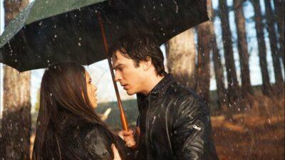 The Vampire Diaries : le message caché derrière le baiser sous la pluie d'Elena et Damon