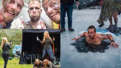 Vikings : 10 photos et vidéos des coulisses qui vous feront voir la série autrement #Saison2