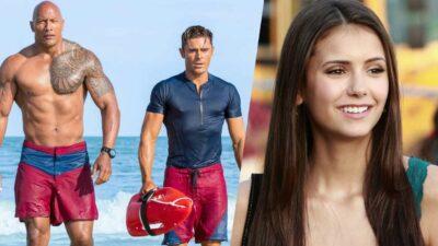 Baywatch – Alerte à Malibu : le saviez-vous ? Nina Dobrev (The Vampire Diaries) aurait pu jouer dans le film