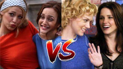 Sondage : tu préfères Blair et Serena de Gossip Girl ou Brooke et Peyton des Frères Scott ?