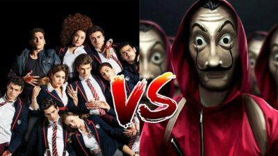 Sondage : le match ultime, tu préfères Elite ou La Casa de Papel ?