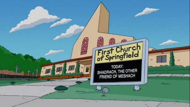 L'Eglise de Springfield