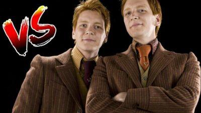 Sondage : le match ultime, tu préfères Fred ou George Weasley dans Harry Potter ?