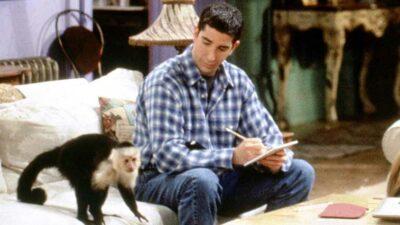 Friends : David Schwimmer était jaloux de Marcel selon le dresseur du singe