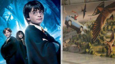Harry Potter : une expo XXL dédiée au petit sorcier habille les gares SNCF de France