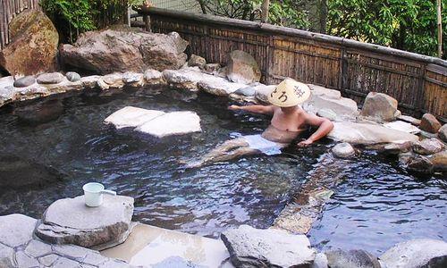 Aux onsen (bains chauds)