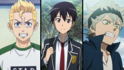 Sondage : Asta, Izuku, Takemichi… vote pour le personnage principal d'anime le plus insupportable