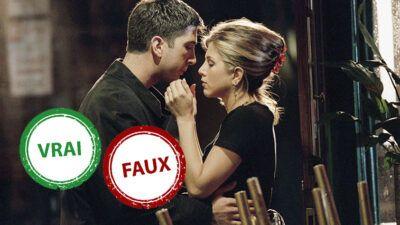 Friends : impossible d'avoir 10/10 à ce quiz Vrai ou Faux sur le couple Ross et Rachel