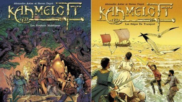 Kaamelott bandes dessinées