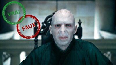 Harry Potter : seul un vrai fan aura 10/10 à ce quiz vrai ou faux sur Voldemort