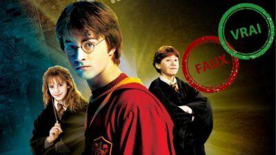 Impossible d'avoir 10/10 à ce quiz vrai ou faux sur Harry Potter et la Chambre des secrets