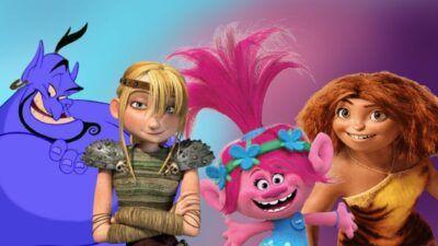 Si tu arrives à nommer ces 30 personnages, alors tu es un vrai fan de films d'animation