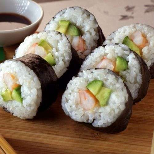Des sushis