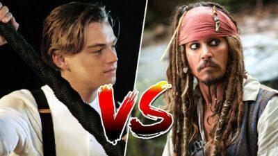 Sondage, le match ultime : tu préfères Jack Dawson (Titanic) ou Jack Sparrow (Pirates des Caraïbes) ?