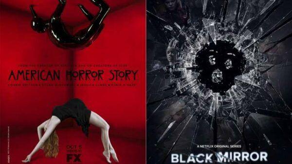 american horror story, black mirror