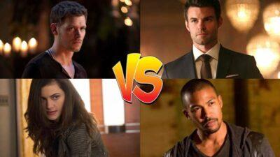 Sondage : matches ultimes, tu sauves qui entre ces persos de The Originals ?