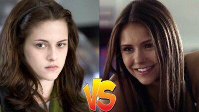 Sondage : match ultime, tu préfères Bella (Twilight) ou Elena (The Vampire Diaries) ?