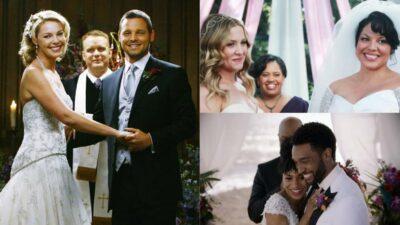 Seul un vrai fan de Grey's Anatomy aura tout bon à ce quiz sur les mariages de la série