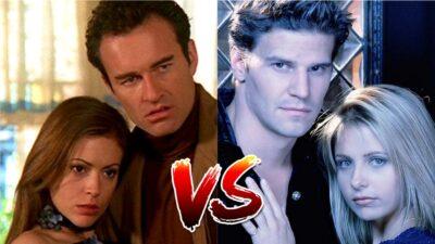 Sondage : tu préfères Phoebe et Cole de Charmed ou Buffy et Angel de Buffy contre les vampires ?