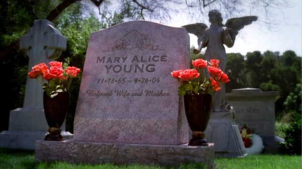 mary alice pierre tombale desperate housewives