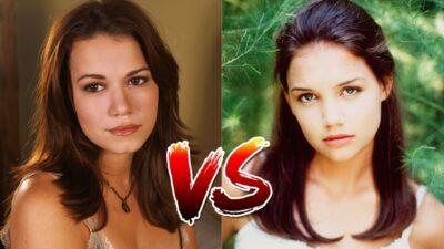 Sondage : le match ultime, tu préfères Haley des Frères Scott ou Joey de Dawson ?