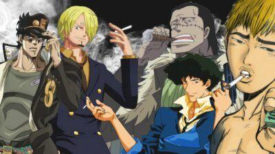 Sondage : vote pour le personnage fumeur le plus stylé d'animes/mangas