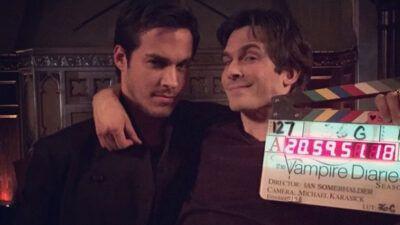 The Vampire Diaries : Ian Somerhalder explique pourquoi il était jaloux de Chris Wood et Kai