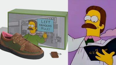 Les Simpson x Adidas : Ned Flanders s'affiche sur une paire de baskets déjà culte