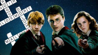 Seul un vrai fan de Harry Potter saura compléter ces grilles de mots croisés